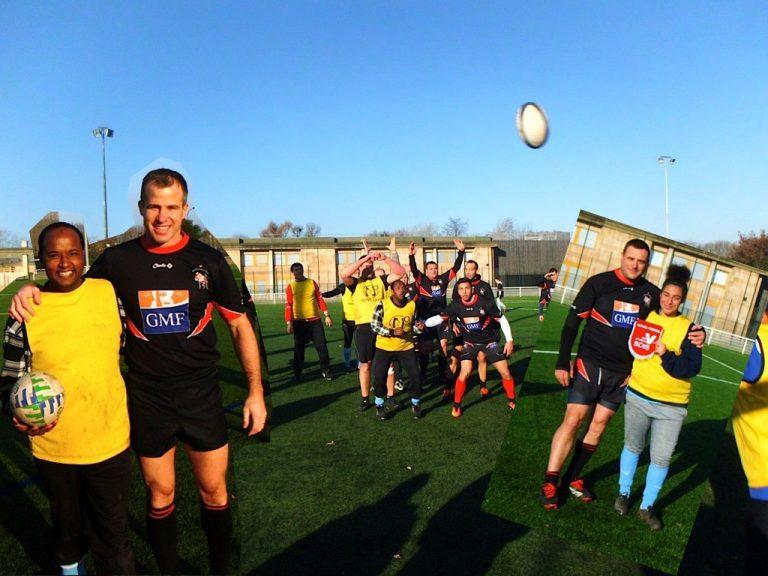 Christo Rugby adapté rencontre les pompiers du Val d'Oise