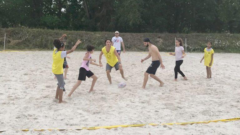 Beach Rugby à l'Île de Loisirs de Cergy